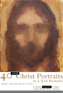 40 small Christ Portraits