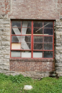 Fugitive Art Center studio window