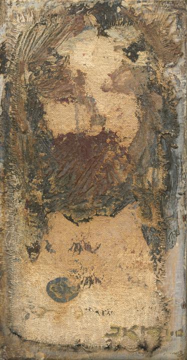 Cristo LXIX (Golden Shroud) by J. Kirk Richards