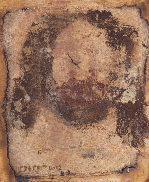 Cristo L (Golden Shroud) by J. Kirk Richards