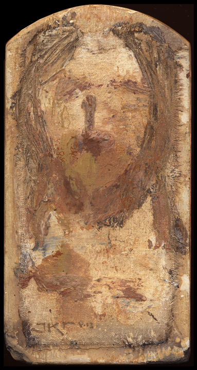 Cristo LIII (Golden Shroud) by J. Kirk Richards