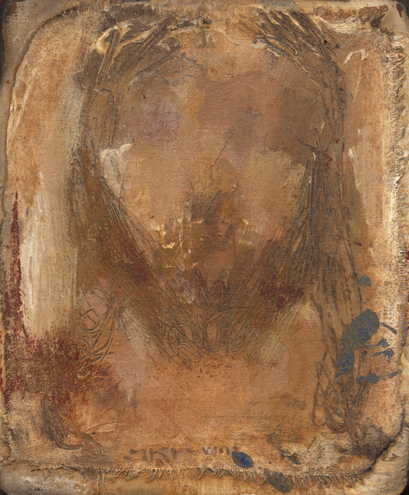 Cristo LIV (Golden Shroud) by J. Kirk Richards