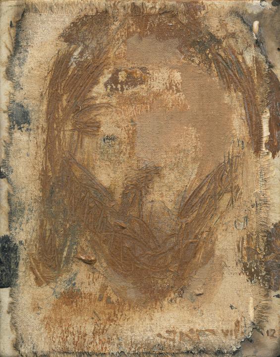Cristo LV (Golden Shroud) by J. Kirk Richards