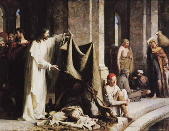 Carl Bloch's Pool of Bethesda