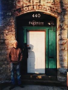 J. Kirk Richards outside the Fugitive Art Center.